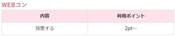 WEBコンの料金表