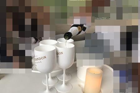 高級シャンパン