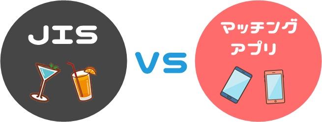 JISとマッチングアプリの比較